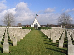 Portuguese World War I cemetery - Richebourg, France