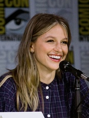 Melissa Benoist stars as the series' titular character, Supergirl.
