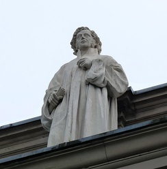 A statue of Schleiermacher at Palais Universitaire in Strasbourg
