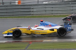 Stéphane Richelmi at the 2011 Nürburgring World series by Renault round