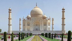 Site#252: The Taj Mahal, an example of a World Heritage Site.