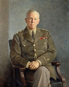 George Marshall portrait by Thomas E. Stephens (c. 1949)