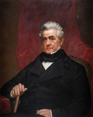 Gubernatorial portrait of William C. Bouck.
