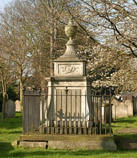 Tomb of William and Jane Hogarth in Chiswick