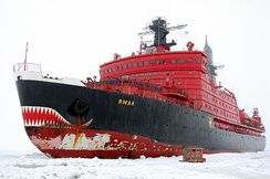 Yamal, one of Russia's nuclear-powered icebreakers[254]