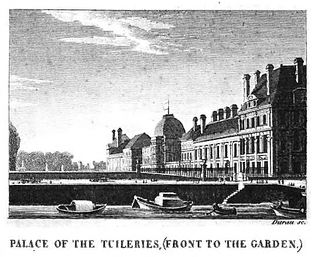 An illustration of the Tuileries