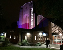 The Secombe Theatre, night and day