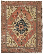Antique Serapi carpet, Heriz region, Northwest Persia, 9 ft 11in x 12 ft 10in, circa 1875