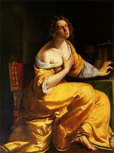Mary Magdalene (1615–1616 or 1620–1625) by Artemisia Gentileschi