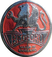 An older version of the Bedford badge with Griffin logo
