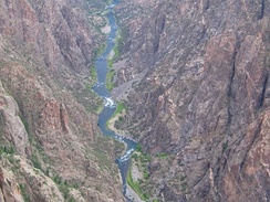 Black Canyon of the Gunnison National Park near Montrose