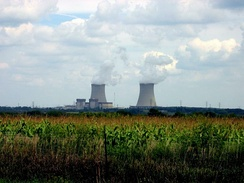 Byron Nuclear Generating Station in Ogle County.