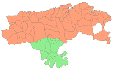 Party and Baton of Laredo (Province of Cantabria)   Merindad of Campoo (Province of Toro).