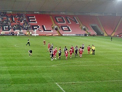 Darlington playing Bury at the Darlington Arena in 2008
