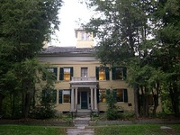 The Dickinson Homestead today, now the Emily Dickinson Museum