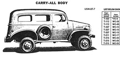 Half-ton Carry-all (4x4 pictured)