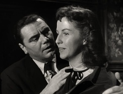 Borgnine and Betsy Blair in  a trailer for Marty, 1955