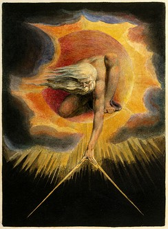 The Ancient of Days (1794)Watercolor etching by William Blake