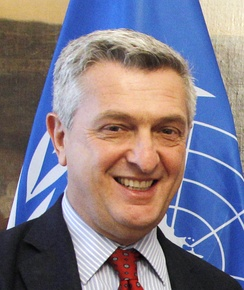 Filippo Grandi holds the post of High Commissioner since January 2016
