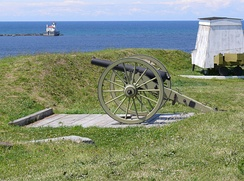 View from Fort Ontario, Oswego, New York