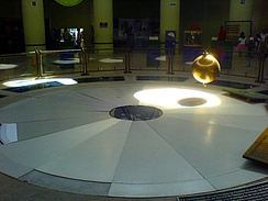 Pendulum in the Querétaro museum of science and technology.