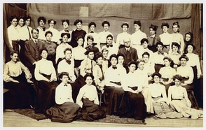 Graduating class, State Normal School at San Francisco, June 1906