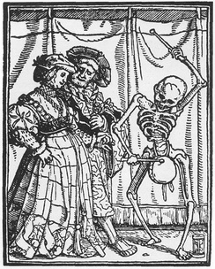 German woodcut in the early 1500s.
