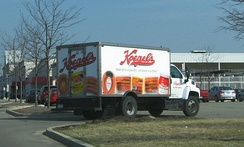 Koegel's delivery truck, Pittsfield Township, Michigan