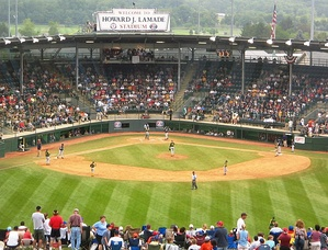 A game of the 2007 Little League World Series