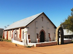 A Methodist chapel in Leliefontein, Northern Cape, South Africa.