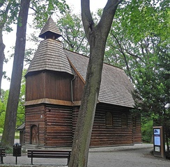 John of Nepomuk Church in Szczytnicki Park, 16th-century