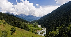 Pahalgam Valley, Kashmir.