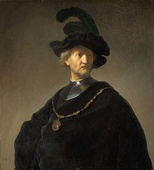 Rembrandt, Old Man with a Gold Chain, c. 1631
