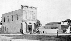 San Diego Union building, c. 1870s