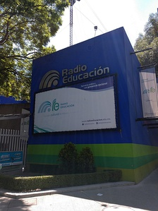 The Radio Educación studios and FM transmitter site, located at Ángel Urraza 622 in Mexico City