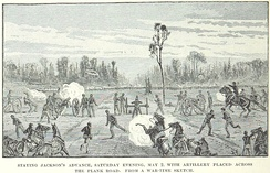 XII Corps artillery halts Jackson's surprise attack
