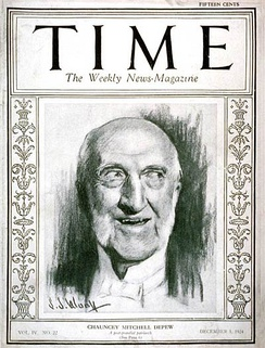 Time cover, 1 Dec 1924