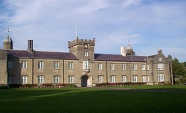 St David's building of the University of Wales Lampeter - Wales' oldest University