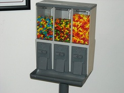 Bulk vending: a bulk candy machine