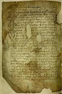Истарский развод (1275), слева, и Винодольский законник (1288), справа