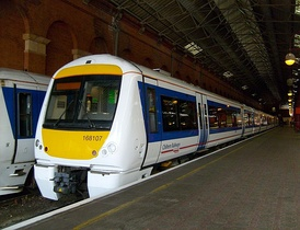 Chiltern Railways ordered 19 Class 168 DMUs for its Marylebone - Birmingham services