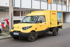 StreetScooter Work as DHL delivery van (2016)