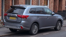 Second facelift Mitsubishi Outlander PHEV