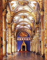 The Hall of the Order of St. Andrew in the Grand Kremlin Palace
