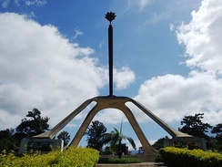 The Arusha Declaration Monument.