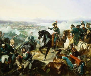 The French army under General Masséna wins a decisive victory over the Austrians and Russians at the Second Battle of Zürich (September 24–25, 1799)