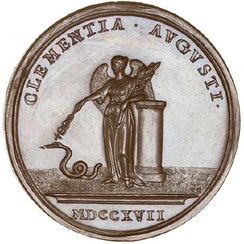 John Croker's medal to commemorate the Act, dated 1717