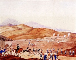 Construction of the Athens-Piraeus highway by army engineers, 1835–36