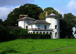 Cronkhill, designed by John Nash, the earliest Italianate villa in England