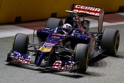 Daniil Kvyat at the 2014 Singapore Grand Prix